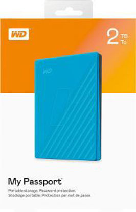 Picture of Western Digital  My Passport 2TB Portable External Hard Drive