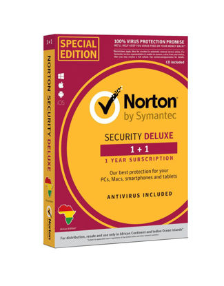 Picture of Norton security deluxe