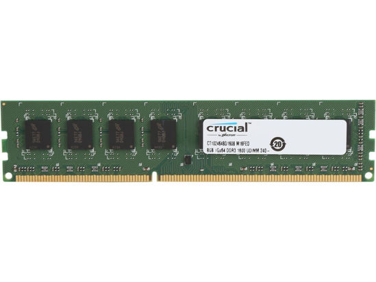 Picture of Crucial 8gb ddr3 desktop Ram