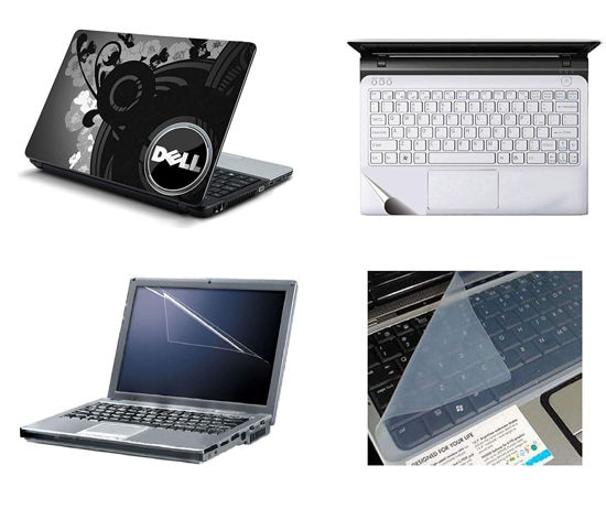 Picture of Laptop Skin 4 IN 1