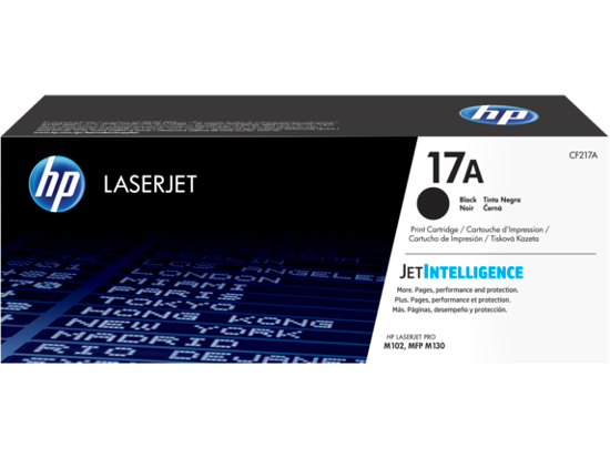 Picture of Hp Toner 17a
