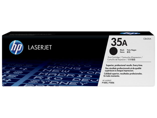 Picture of Hp Compatible toner 35A