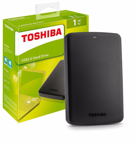 Picture of Toshiba external hard drive 1tb